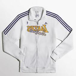 LOS ANGELES LAKERS AUTHENTIC NBA TRACK JACKET LAL ADIDAS F87