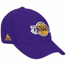 Adidas Los Angeles Lakers Cap Structured Style Adjustable Wo