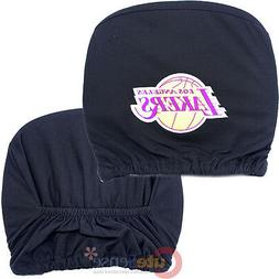 Los Angeles Lakers Car Head Rest Cover 2pc Set NBA Auto Acce