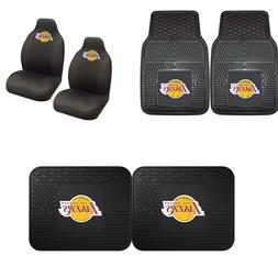 Los Angeles Lakers Car Truck Front Rear Awesome Floor Mats S
