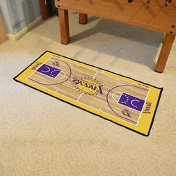 """Los Angeles Lakers Court Runner Mat Area Rugs 24"""" x 44"""""""