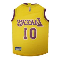 Los Angeles Lakers Dog Clothes Pet Jersey NBA for Dog / Cat