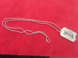 Los Angeles Lakers Dog-tag Necklace with 28 inch chain - New