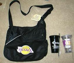 Clearance! LAKERS ~ FAN PACK 2 ~ LIGHTWEIGHT MESSENGER BAG &