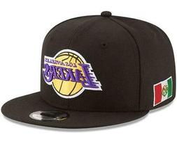 Los Angeles Lakers Fitted New Era 59Fifty Mexico Flag Black
