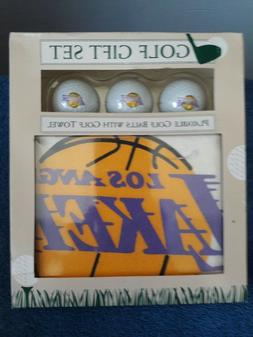 Los Angeles Lakers Golf Gift Set