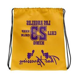 Los Angeles Lakers King Themed Gym Fitness Sport Drawstring