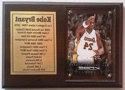 Los Angeles Lakers Kobe Bryant Basketball Card Plaque