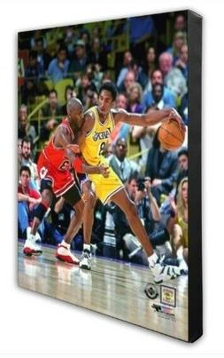 Los Angeles Lakers Kobe Bryant Michael Jordan 16x20 Photo Po