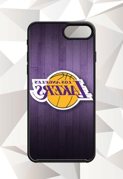 LOS ANGELES LAKERS LA LOGO IPHONE 5 6 7 8 X PLUS  CASE FREE