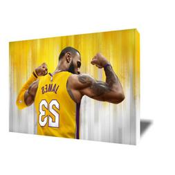 Los Angeles Lakers LEBRON JAMES Poster Photo Painting Artwor
