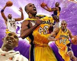 Los Angeles Lakers Lithograph print of Kobe Bryant