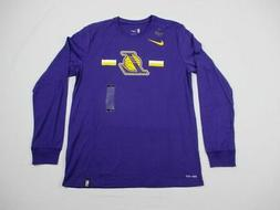 Los Angeles Lakers Nike Long Sleeve Shirt Men's New Multiple