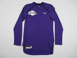 Los Angeles Lakers Nike Long Sleeve Shirt Men's Purple New M