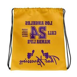 Los Angeles Lakers Mamba Life Themed Gym Fitness Sport Draws