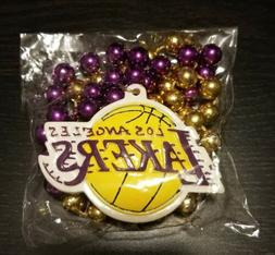 Los Angeles Lakers Mardi Gras Beads Game Day Giveaway
