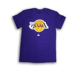 Los Angeles Lakers Men's Purple adidas Short Sleeve T-shirt