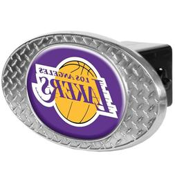 Los Angeles Lakers Metal Diamond Plate Trailer Hitch Cover