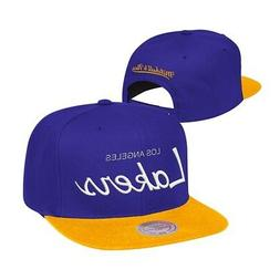 Los Angeles Lakers Mitchell & Ness Classic Script  Snapback