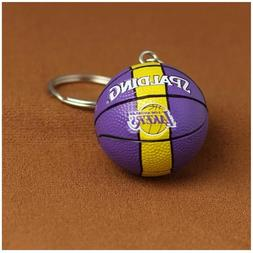 Los Angeles Lakers Spalding NBA Basketball Team Logo Mini Ke