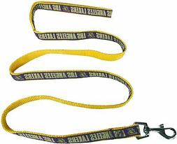LOS ANGELES LAKERS NBA Dog Lead Leash Pets First