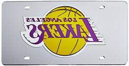Los Angeles Lakers Official NBA 12 inch x 6 inch Laser Cut L