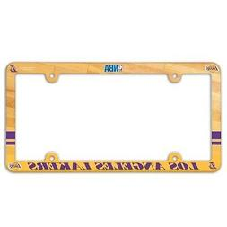 LOS ANGELES LAKERS ~ NBA License Plate Frame Cover Holder Pl
