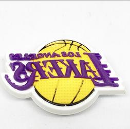 Los Angeles Lakers Jibbitz NBA jibbitz Los Angels Lakers Sho