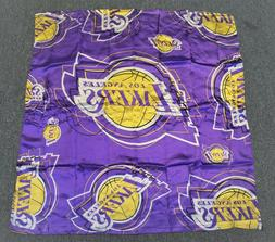 LOS ANGELES LAKERS NBA SILK TEAM SCARF GAME DAY TEAM COLORS