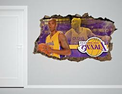 Los Angeles Lakers NBA Wall Decal Living Room Or Room 3D Wal