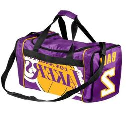 * Los Angeles Lakers Official Duffle Gym Bag - Lonzo Ball #2