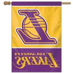LOS ANGELES LAKERS ~ Official NBA 28x40 Outdoor House Flag B