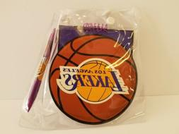los angeles lakers pen tablet notepad paper