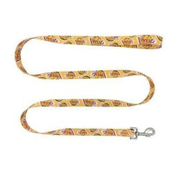 Los Angeles Lakers Pet Leash 1x60  NBA Dog Walk Collar Clip