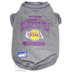Los Angeles Lakers Pet T-Shirt - Large