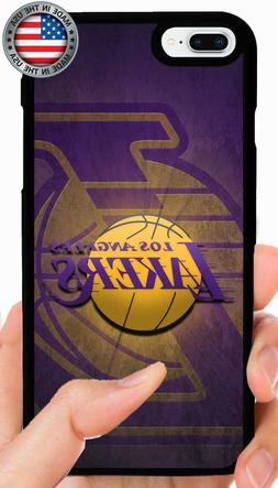 LOS ANGELES LAKERS PHONE CASE FOR iPHONE 11 PRO XS MAX XR X