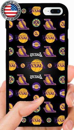 LOS ANGELES LAKERS PHONE CASE FOR IPHONE 11 PRO XS MAX X 8 7