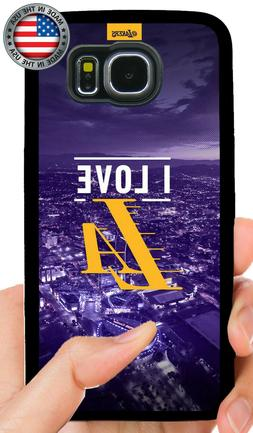 LOS ANGELES LAKERS PHONE CASE FOR SAMSUNG NOTE & GALAXY S7 E