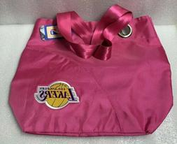 Los Angeles Lakers Pink Tote Bag With Magnetic Closure