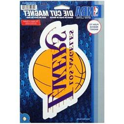 "WinCraft Los Angeles Lakers Primary 6"" x 9"" Car Magnet"