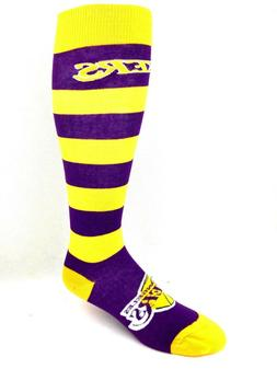 For Bare Feet Los Angeles Lakers Purple & Gold Stripe Thin L