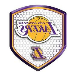 Los Angeles Lakers Reflector Shield Decal for Car, Truck, Ma