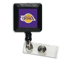 Los Angeles Lakers Retractable Badge Holder