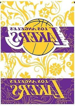 Los Angeles Lakers Rico Premium 2-sided GARDEN Flag Outdoor