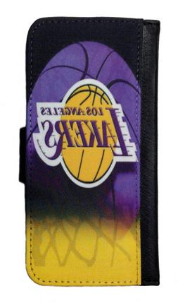 LOS ANGELES LAKERS SAMSUNG GALAXY & iPHONE CELL PHONE CASE L