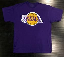 Los Angeles Lakers T-Shirt Graphic Cotton Logo LA Adult Men