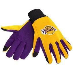 LOS ANGELES LAKERS TEXTING TECHNOLOGY GLOVES NBA