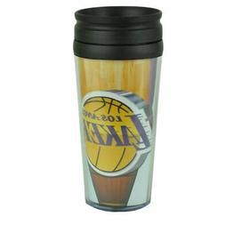 LOS ANGELES LAKERS TRAVEL TUMBLER MUG CUP COFFEE MLB 16 OZ I