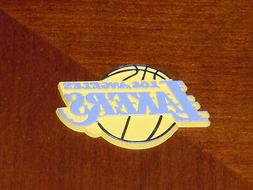 LOS ANGELES LAKERS Vintage NBA RUBBER Basketball FRIDGE MAGN