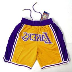 Los Angeles Lakers Vintage Retro Gold Just Don Summer League
